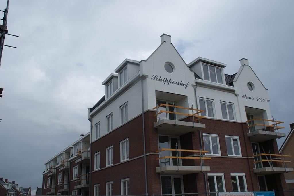 Appartementen in aanbouw te Oerle